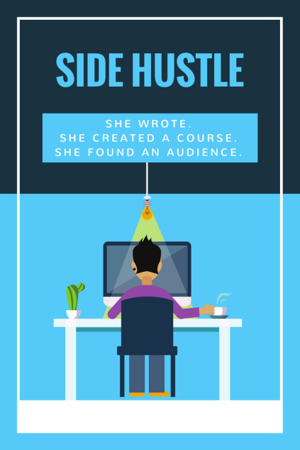 Side Hustle 2 person at dsk