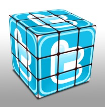 twitter-rubix cube