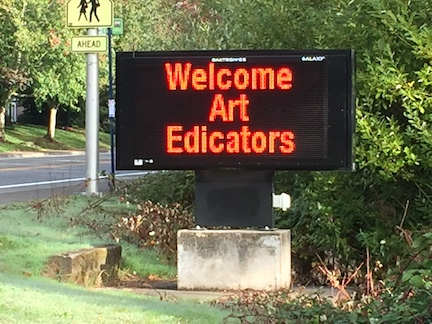 welcome art edicators