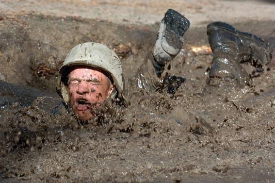 mud stuck