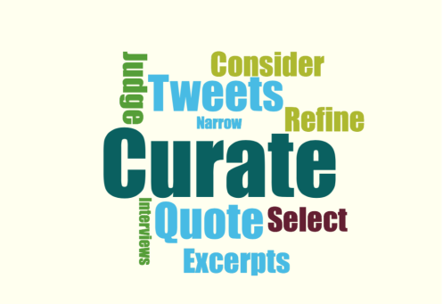 Curate-word-cloud