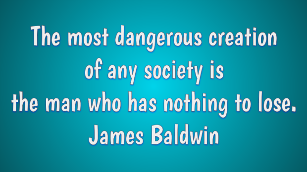 Creativity quote by James Baldwin