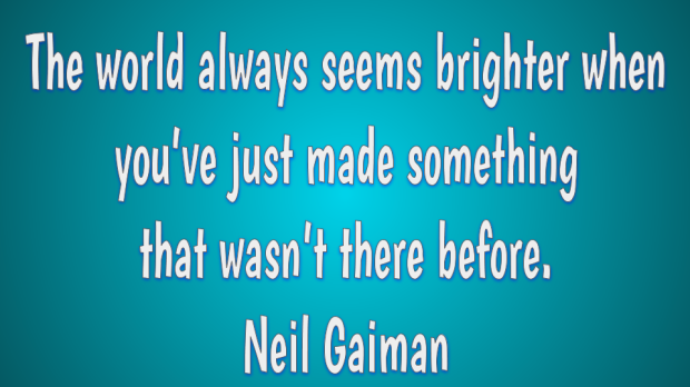 Creativity quote by Neil Gaiman