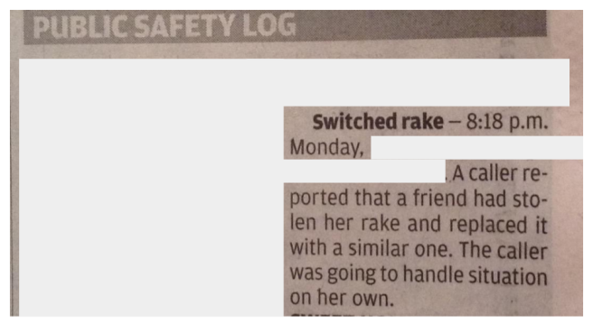switched rake