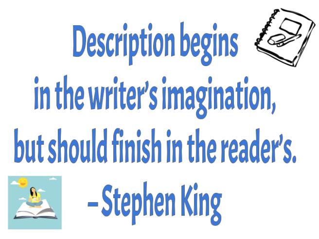 Writing King reader imagination