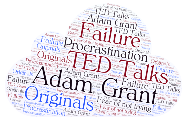 word cloud TED Talks