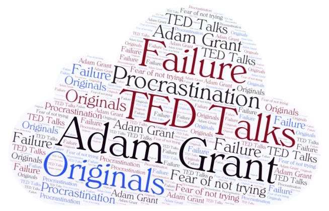 word cloud TED Talks