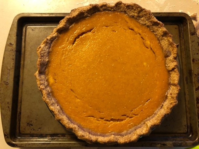 sunshine squash pie