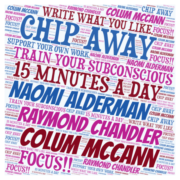 ALDERMAN McCANN CHANDLER WRITERS WORD CLOUD